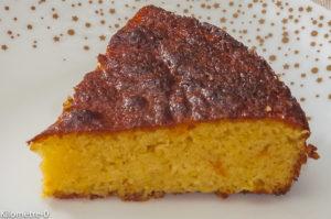 Photo de recette de  fondant à l'orange, amandes de Kilomètre-0, blog de cuisine réalisée à partir de produits locaux et issus de circuits courts