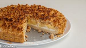 Photo de recette de dessert, gâteau, tarte au citron, crumble, yaourt, facile de Kilomètre-0, blog de cuisine réalisée à partir de produits locaux et issus de circuits courts