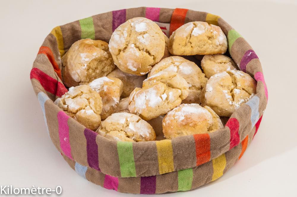 Photo de recette de craquelés au citron, petits gâteaux, biscuits faciles de Kilomètre-0, blog de cuisine réalisée à partir de produits locaux et issus de circuits courts