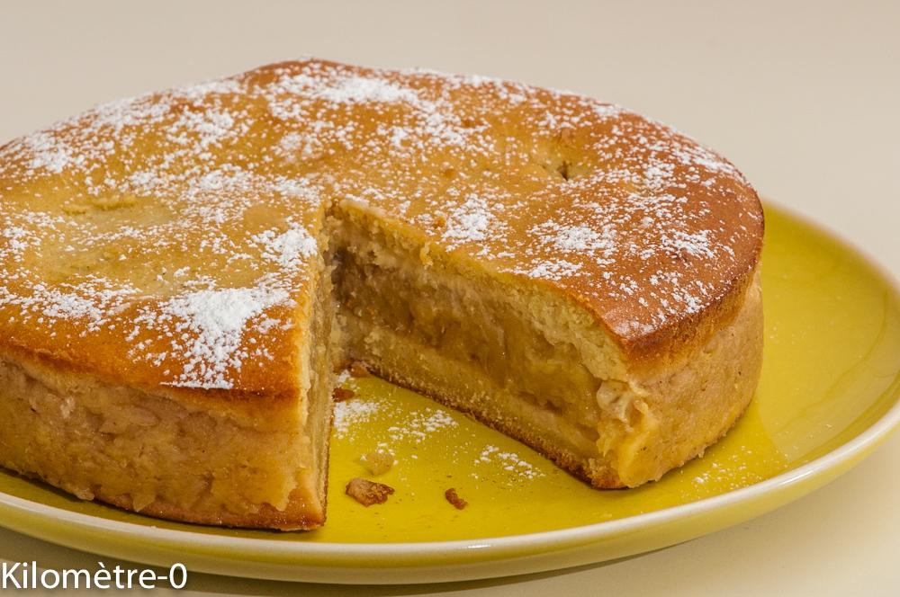 Photo de recette de gâteau facile, pommes, cannelle, recette roumaine de  Kilomètre-0, blog de cuisine réalisée à partir de produits locaux et issus de circuits courts