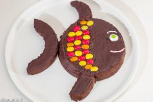 Photo de recette de poisson d'avril ,poisson, anniversaire, enfant, chocolat, 1er avril, chocolat, fondant, enfant, anniversaire de Kilomètre-0, blog de cuisine réalisée à partir de produits locaux et issus de circuits courts
