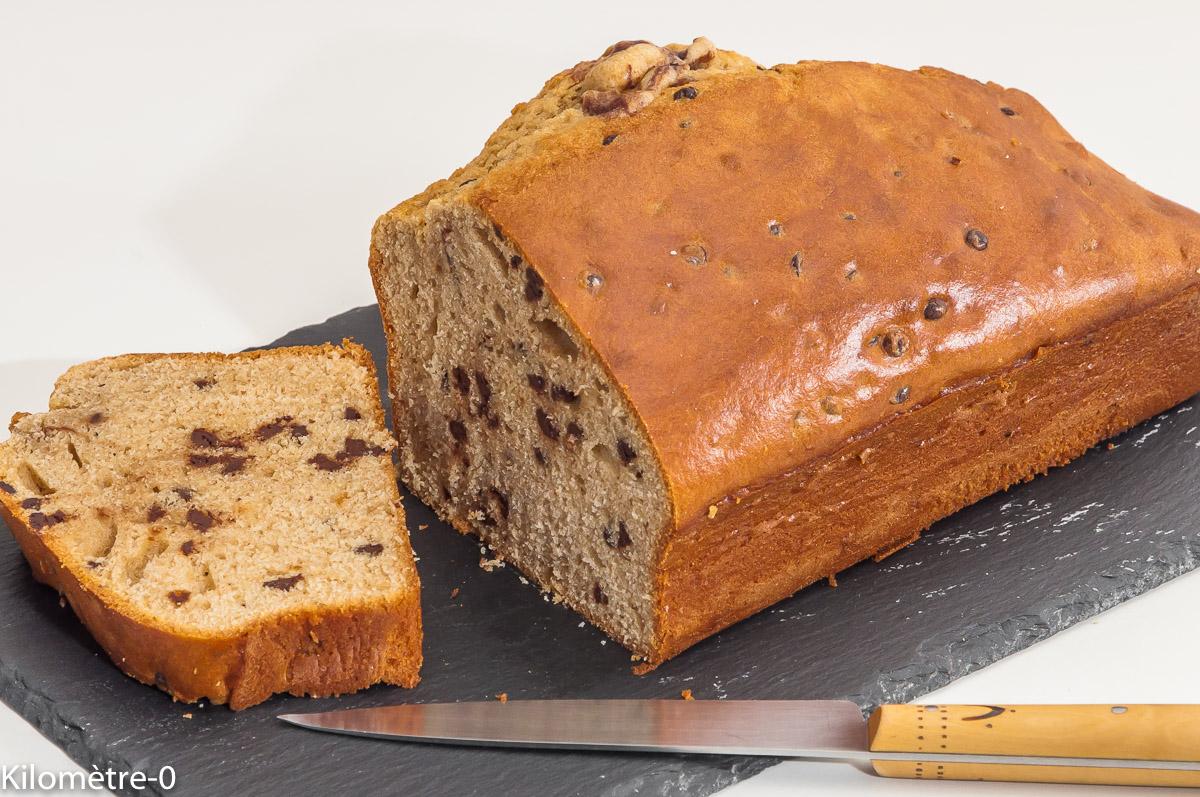 Photo de recette de gâteau du matin, café, pépites de chocolat, facile, bio, léger de Kilomètre-0, blog de cuisine réalisée à partir de produits locaux et issus de circuits courts