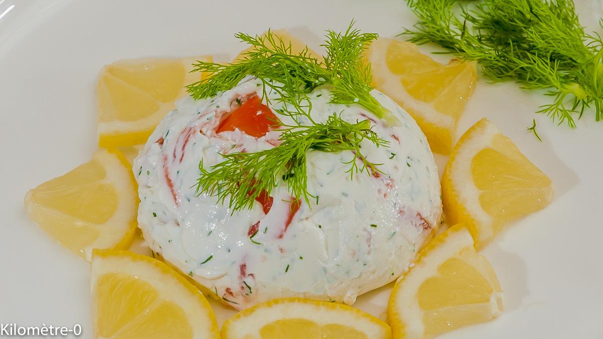 Photo de recette de dôme, truite fumée, saumon, yaourt grec de Kilomètre-0, blog de cuisine réalisée à partir de produits locaux et issus de circuits courts