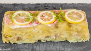 Photo de recette de terrine, rouget, poisson, légumes, fenouil de  Kilomètre-0, blog de cuisine réalisée à partir de produits locaux et issus de circuits courts