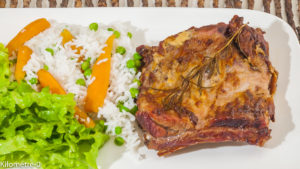Photo de recette de spare rib, spare ribs, travers de porc, riz, viande grillée, grillade facile de Kilomètre-0, blog de cuisine réalisée à partir de produits locaux et issus de circuits courts