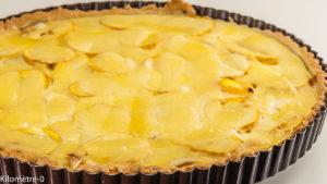 Photo de recette de tarte salée, facile, légumes, fenouil, courgettes, fromage, ricotta de Kilomètre-0, blog de cuisine réalisée à partir de produits locaux et issus de circuits courts