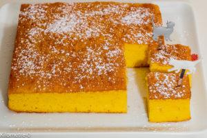 Photo de recette de moelleux au citron, facile, rapide, bio, légère de Kilomètre-0, blog de cuisine réalisée à partir de produits locaux et issus de circuits courts