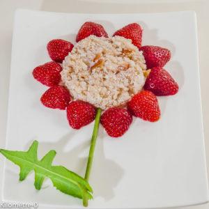 Photo de recette de fleur, salade, crabe, fraise, crustacés, belle, originale, facile de  Kilomètre-0, blog de cuisine réalisée à partir de produits locaux et issus de circuits courts