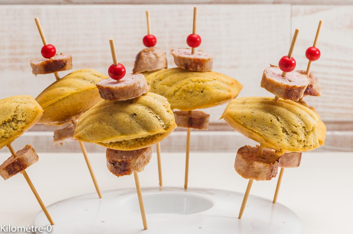 Photo de recette de madeleines, cuisine française, recette française, apéro, saucisse de  Kilomètre-0, blog de cuisine réalisée à partir de produits locaux et issus de circuits courts