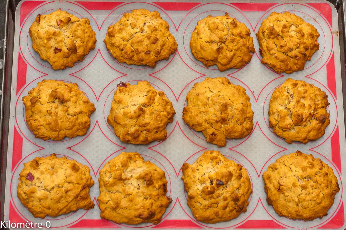 Photo de recette de scones aux céréales, muesli de Kilomètre-0, blog de cuisine réalisée à partir de produits locaux et issus de circuits courts
