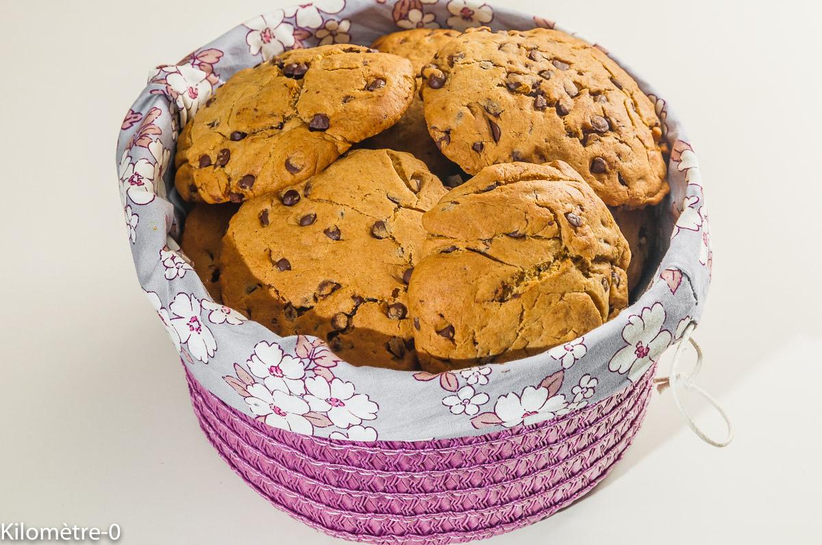 Photo de recette légère, facile, rapide, bio,  de cookies légers, facile, rapide, inratable, bio, énergétique, de Kilomètre-0, blog de cuisine réalisée à partir de produits locaux et issus de circuits courts