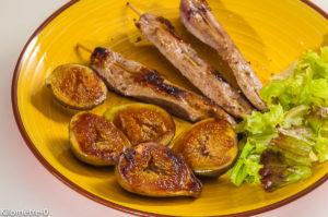 Photo de recette de canard aux figues , facile, marinade de  Kilomètre-0, blog de cuisine réalisée à partir de produits locaux et issus de circuits courts