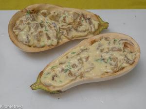 Photo de recette d'aubergine blanches farice, bio, ricotta de Kilomètre-0, blog de cuisine réalisée à partir de produits locaux et issus de circuits courts