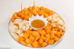 Photo de recette d'apéro italien, melon, grana padano, parmesan, miel de  Kilomètre-0, blog de cuisine réalisée à partir de produits locaux et issus de circuits courts