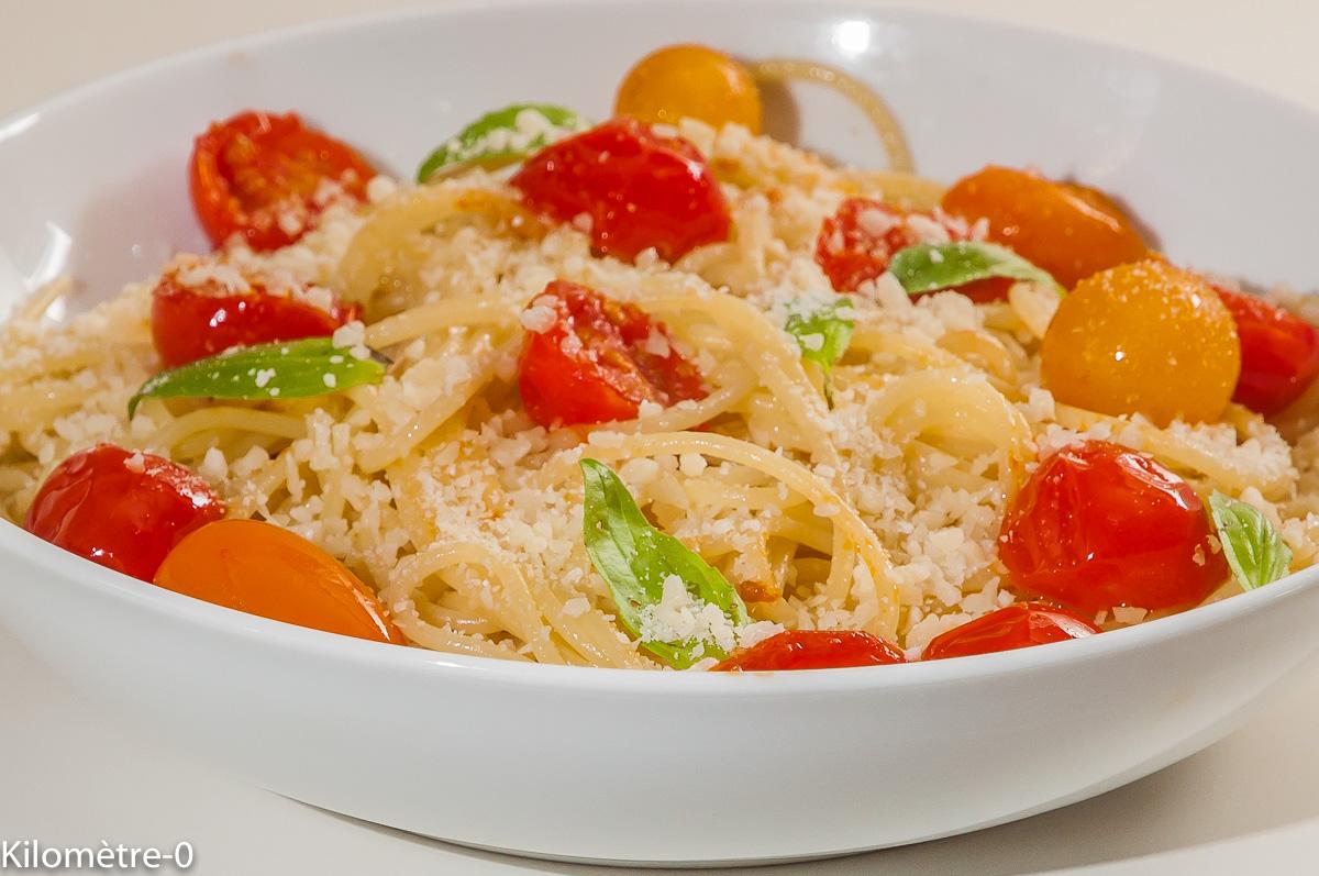 Photo de recette italienne de pâtes, grana, facile, Italie de Kilomètre-0, blog de cuisine réalisée à partir de produits locaux et issus de circuits courts