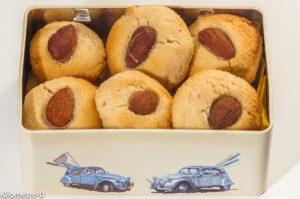 Photo de recette avec des blancs d'oeuf, biscuits, petits gâteaux, goûter, enfant, facile, rapide, amandes,  de Kilomètre-0, blog de cuisine réalisée à partir de produits locaux et issus de circuits courts