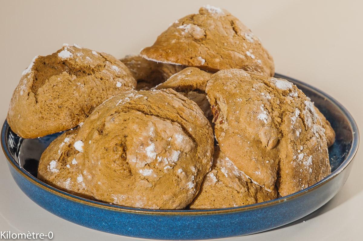 Photo de recette de crinkles, craquelés, café, facile, rapide, biscuits, gâteaux secs, petits gâteaux faciles de Kilomètre-0, blog de cuisine réalisée à partir de produits locaux et issus de circuits courts