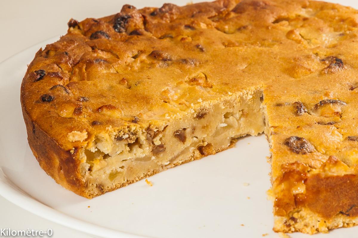 Photo de recette de bustrengo, gâteau, recette de San Marin, San Marino, cusine italienne, gâteau rustique de Kilomètre-0, blog de cuisine réalisée à partir de produits locaux et issus de circuits courts