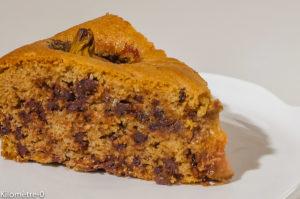 Photo de recette de gâteau facile, figues, amandes, chocolat, automne, été, rapide de  Kilomètre-0, blog de cuisine réalisée à partir de produits locaux et issus de circuits courts