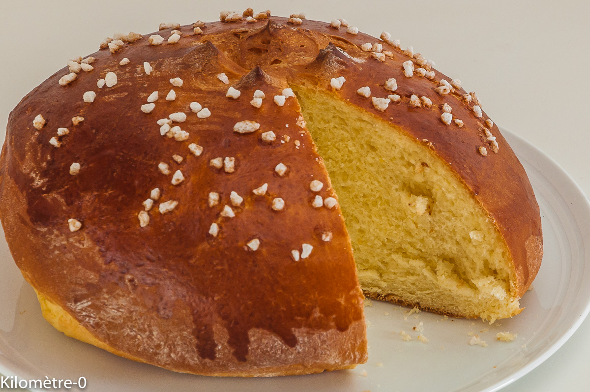 Photo de recette de mouna, brioche, espagnole, Espagne,  brioche de Pâques, algérienne de Kilomètre-0, blog de cuisine réalisée à partir de produits locaux et issus de circuits courts