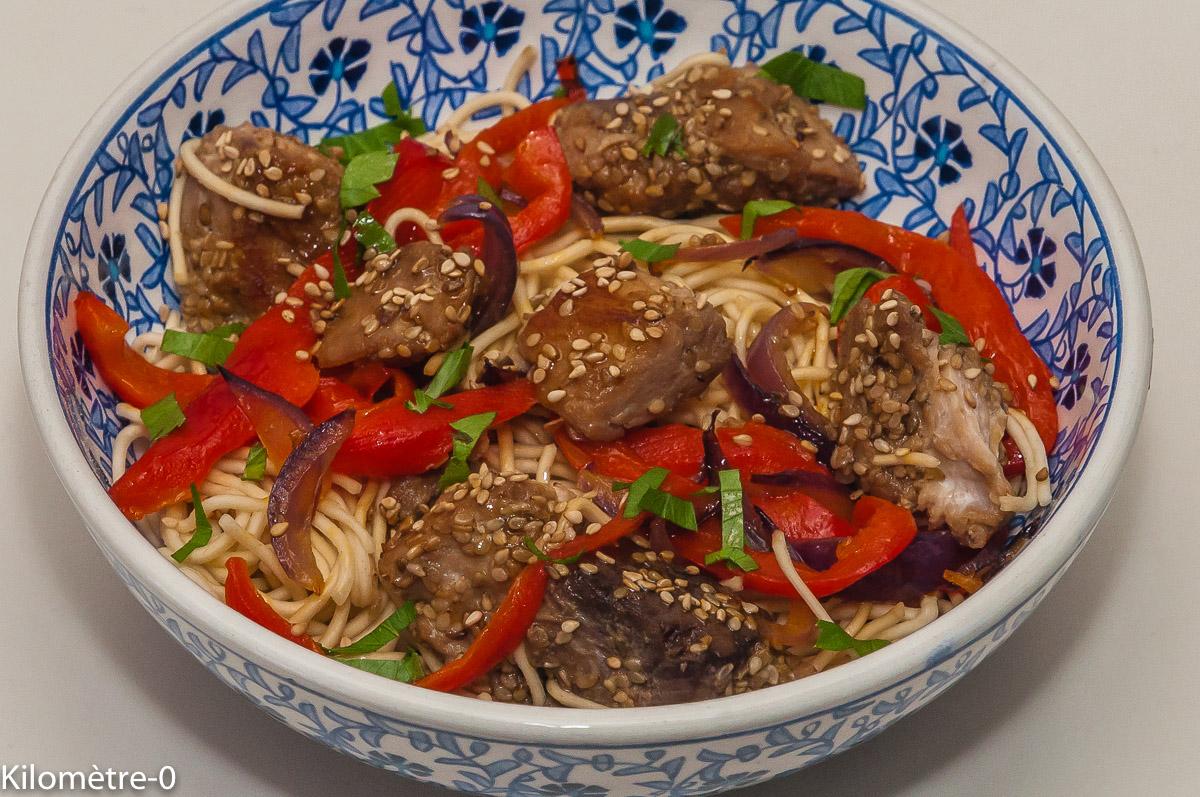 Photo De Recette Chinoise Cuisine Chine Thon Marine
