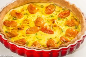 Photo de recette de tarte tomate, ricotta, été, facile, légère de Kilomètre-0, blog de cuisine réalisée à partir de produits locaux et issus de circuits courts