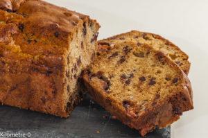 Photo de recette de cake, figues, amandes, chocolat, gâteau du matin, facile, rapide, bio de Kilomètre-0, blog de cuisine réalisée à partir de produits locaux et issus de circuits courts