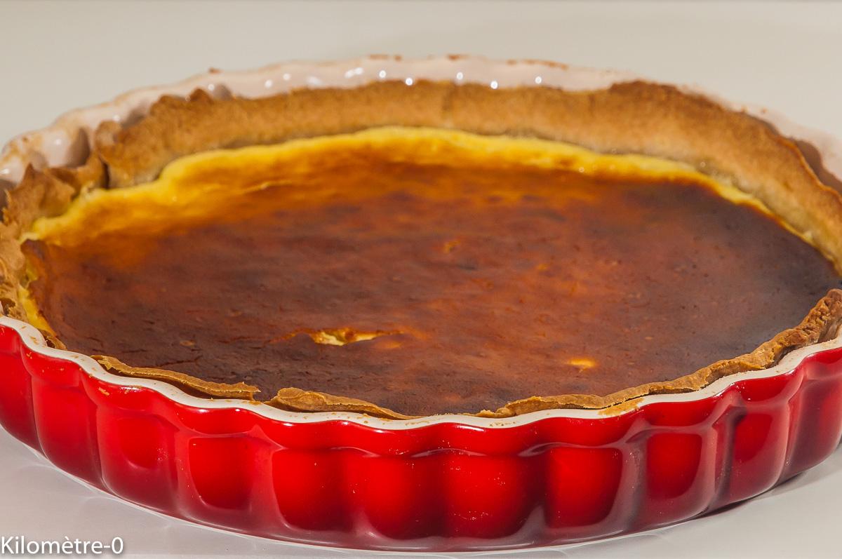 Photo de recette de tarte au maugin, dessert lorrain, cuisine lorraine, facile, rapide, Kilomètre-0, blog de cuisine réalisée à partir de produits locaux et issus de circuits courts