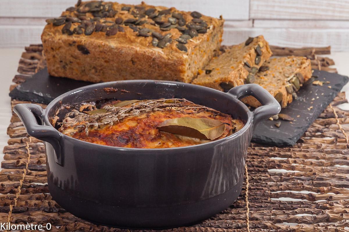 Photo de recette de  terrine, pâté, porc, jambon, échine, de Kilomètre-0, blog de cuisine réalisée à partir de produits locaux et issus de circuits courts
