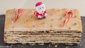 Photo de recette de  vinarterta, cuisine islandais, Noël, Islande, prunes, gâteau, dessert, baies de genièvre de Kilomètre-0, blog de cuisine réalisée à partir de produits locaux et issus de circuits courts
