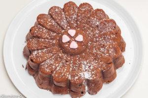 Photo de recette de gâteau au chocolat, facile, rapide, léger de Kilomètre-0, blog de cuisine réalisée à partir de produits locaux et issus de circuits courts