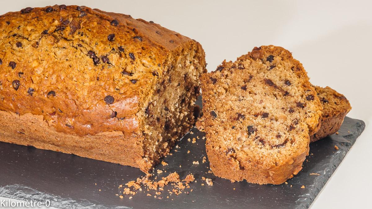 Photo de recette de gâteau du matin, noisettes, chocolat de kilomètre-0, blog de cuisine réalisée à partir de produits locaux et issus de circuits courts