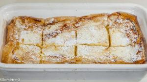 Photo de recette roumaine, piacinta, gâteau au fromage blanc, facile, rapide, Roumanie de de Kilomètre-0, blog de cuisine réalisée à partir de produits locaux et issus de circuits courts
