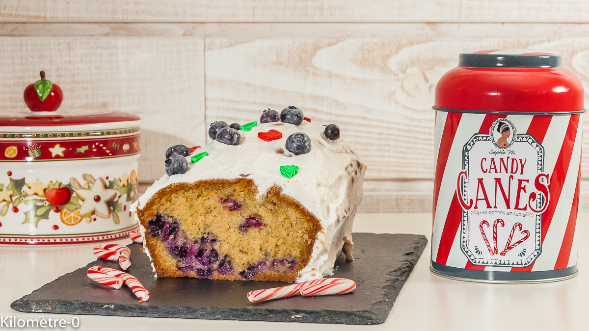 Photo de recette de gâteau du matin, Noël, cake, facile, myrtilles, ricotta de  Kilomètre-0, blog de cuisine réalisée à partir de produits locaux et issus de circuits courts