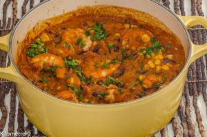 Photo de recette de githeri, mijoté, chili, crevettes, haricots rouges, Kenya, kenyane, africaine, cuisine du monde, piment,  Kilomètre-0, blog de cuisine
