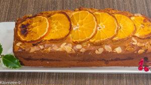 Photo de recette de gâteau, cake de Noël, marrons, crème, gâteau du matin, facile, rapide, bio hiver, dessert, orange, agrumes de Kilomètre-0, blog de cuisine réalisée à partir de produits locaux et issus de circuits courts