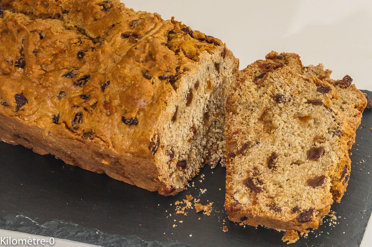 Photo de recette de pain des mendiants strasbourgeois, Noël, cake, fruits secs, orange confite de Kilomètre-0, blog de cuisine réalisée à partir de produits locaux et issus de circuits courts