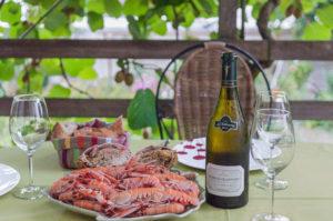 image de recette de plateau de fruits de mer fait maison, langoustines, crabe, four vapeur, léger, facile, cuire des crustacés, de Kilomètre-0