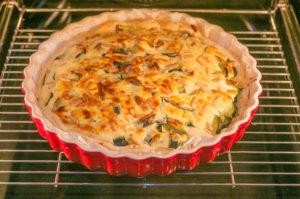 recette de tarte salée, feuilletée, ricotta et courgettes, bio, facile, de Kilomètre-0, blog de cuisine