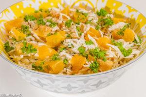 Photo de recette perse, iranienne, légère, facile, rapide, bio, salade de céleri rave aux oranges, graines de carvi de  de Kilomètre-0, blog de cuisine réalisée à partir de produits de saison et issus de circuits courts