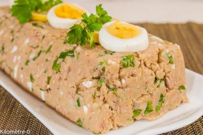 Photo de recette de pain de thon économique, facile, rapide, léger de Kilomètre-0, blog de cuisine réalisée à partir de produits de saison et issus de circuits courts