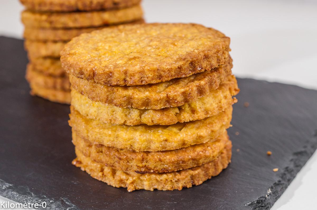 Photo de recette de sablés normands, biscuits, facile, rapide, orange, gâteau sec, Normandie, biscuits Kilomètre-0, blog de cuisine réalisée à partir de produits de saison et issus de circuits courts