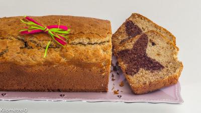 Photo de recette de dessert, printemps, papillon, cake, gâteau du matin, chocolat, amandes, facile, rapide, léger de Kilomètre-0, blog de cuisine réalisée à partir de produits de saison et issus de circuits courts