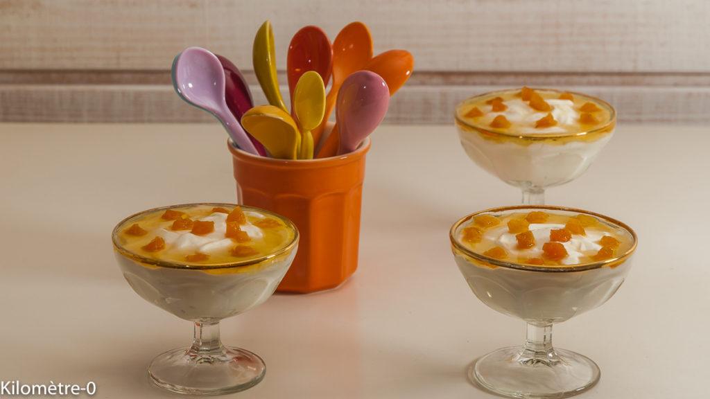 Photo de recette de yaourt mi meli, yaourt grec au miel, abricots, raisins, fruits secs, facile, rapide, Grèce, léger, Kilomètre-0, blog de cuisine réalisée à partir de produits de saison et issus de circuits courts