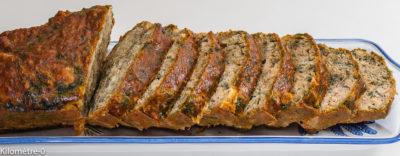 Photo de recette de cake aux orties et rillettes, campagnard, salé, maison, orties, légumes,  Kilomètre-0, blog de cuisine réalisée à partir de produits de saison et issus de circuits courts