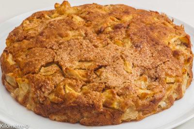 Photo de recette  irlandaise, cuisine du monde, Irlande, gâteau irlandais aux pommes, facile, bio, rapide, léger de de Kilomètre-0, blog de cuisine réalisée à partir de produits de saison et issus de circuits courts