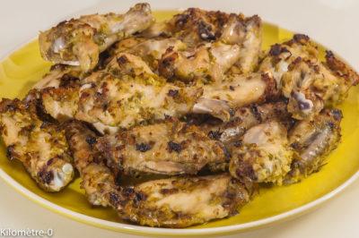 Photo de recette d'ailes de poulet, citronnelle, vietnamienne, asiatique, cuisine du monde, apéro, facile, marinade de Kilomètre-0, blog de cuisine réalisée à partir de produits de saison et issus de circuits courts