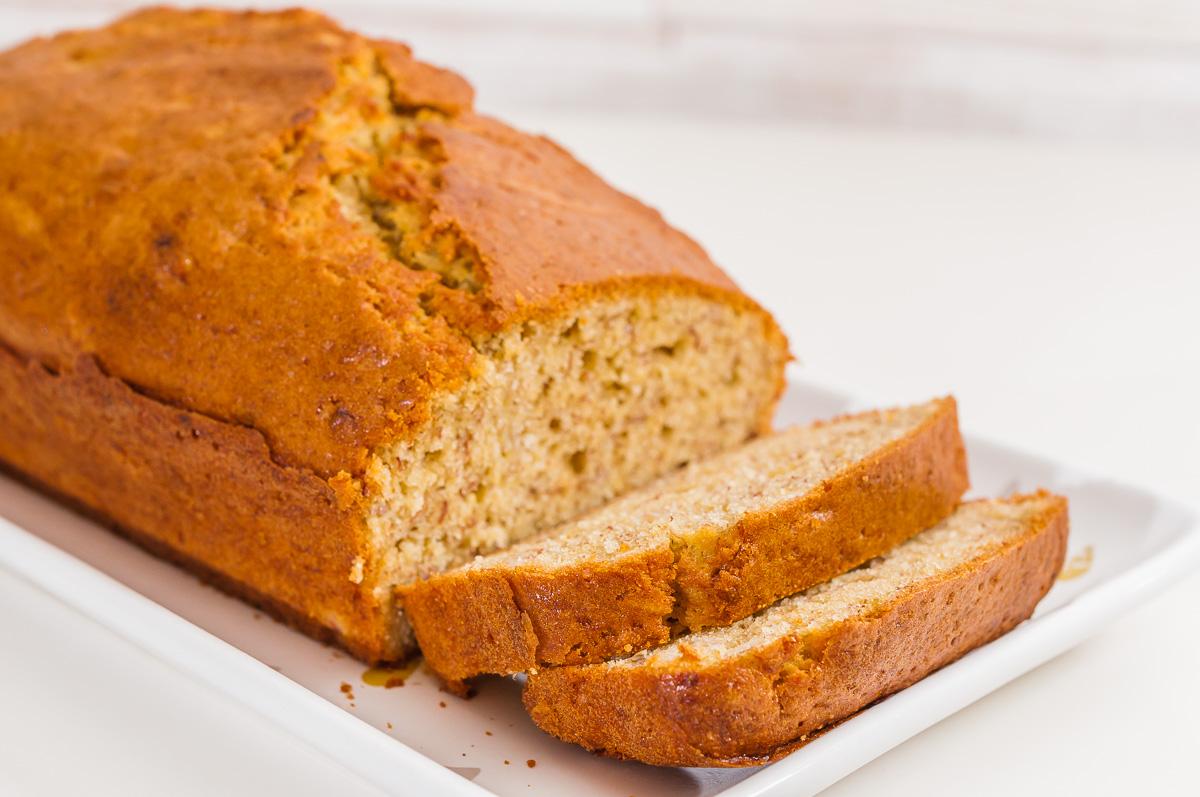 Photo de recette de banana bread, îles Marshall, cuisine du monde, cake, bananes, gâteau facile de  Kilomètre-0, blog de cuisine réalisée à partir de produits de saison et issus de circuits courts