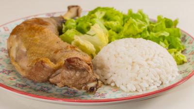 Photo de recette de poulet au gingembre, healthy, facile, léger,  Kilomètre-0, blog de cuisine réalisée à partir de produits de saison et issus de circuits courts
