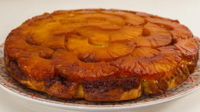 Photo de recette  africaine, cuisine du monde, gâteau à l'ananas facile, rapide, fruts exotiques, de Kilomètre-0, blog de cuisine réalisée à partir de produits de saison et issus de circuits courts